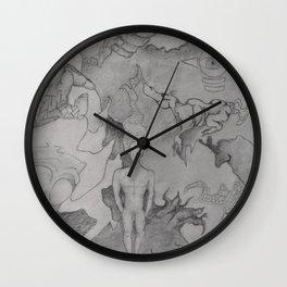 Strange Scenario Wall Clock