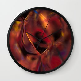 Cubicle Abstract Wall Clock