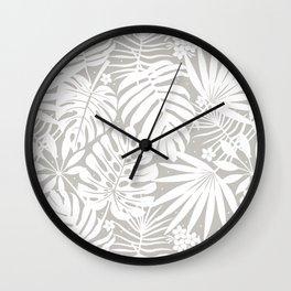 Lindenman Tropics Wall Clock