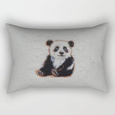 Tiny Panda Rectangular Pillow