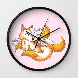 Kitsubunny Wall Clock
