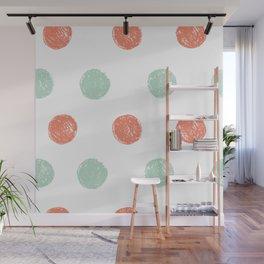 Dot Pattern Wall Mural