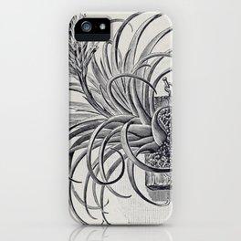 Botanical Air Plant iPhone Case