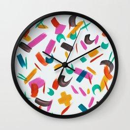 Festive Day Wall Clock