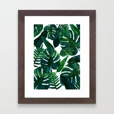Perceptive Dream || #society6 #tropical #buyart Framed Art Print