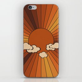 Retro Sunshine iPhone Skin