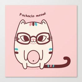 Pochoclo the Cat Canvas Print