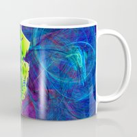 new jersey Mugs featuring New Jersey Map by Roger Wedegis