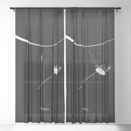 VOYAGER 2 Sheer Curtain