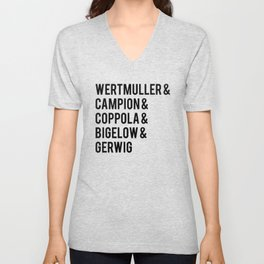 Female Best Director Oscar Nominees Tote Unisex V-Neck