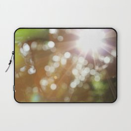 Finding the Light Abstract Photography Laptop Sleeve