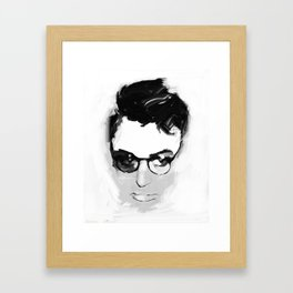 Cary with glasses Framed Art Print