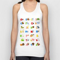 spanish Tank Tops featuring ABC (spanish) by Alapapaju