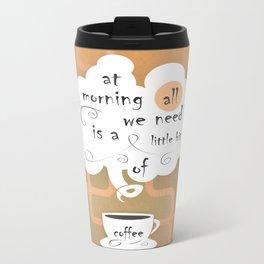Cofee Metal Travel Mug