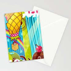 The Great Pineapple Race Stationery Cards