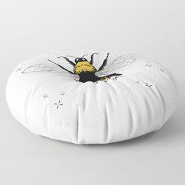 Just Bee. Floor Pillow