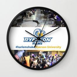 Ryerson University #harlemshake  Wall Clock
