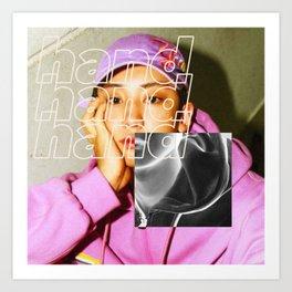 Artwork K-Pop EXO Chanyeol Art Print