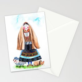 MARIA FROM SERRA DA ESTRELA-PORTUGAL Stationery Cards