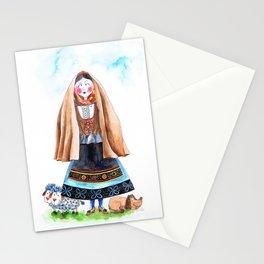 MARIA FROM SERRA DA ESTRELA-PORTUGAL Stationery Cards