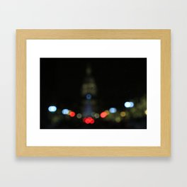 Mitten's Cap City Framed Art Print
