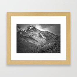 South Tyrol, Italian Mountains Landscape Framed Art Print