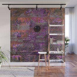Sometimes You've Got To Take The Hardest Line [Recombinant Series] Wall Mural