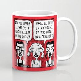 Horror Movie Sleepover Coffee Mug