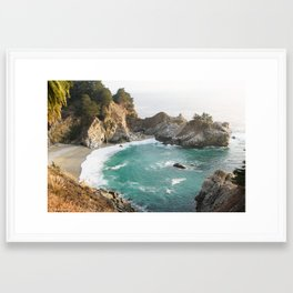 Julia Pfeiffer Burns State Park Framed Art Print