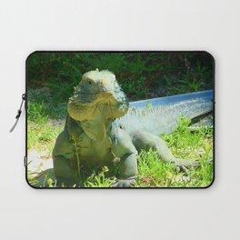 Iguana and Chill Laptop Sleeve