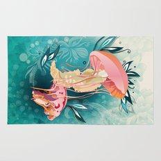 Jellyfish tangling Rug