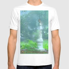 Standing in the Rain Mens Fitted Tee White MEDIUM