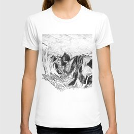 Yosemite Valley from Inspiration Point T-shirt