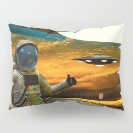 Hitchinghiking Across The Universe Pillow Sham