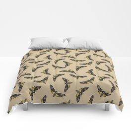 Death's-head hawkmoth Comforters