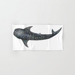Whale shark Rhincodon typus Hand & Bath Towel