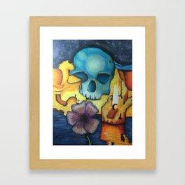 Burnt Out Framed Art Print