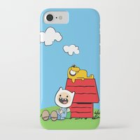 peanuts iPhone & iPod Cases featuring Peanuts time by geminiska