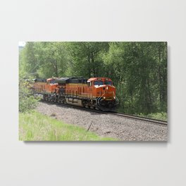 Two In A Row Metal Print