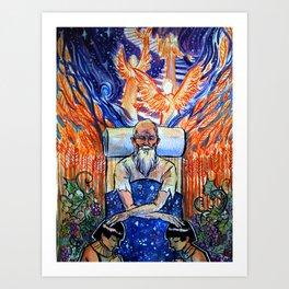 Jacob's Blessing Art Print