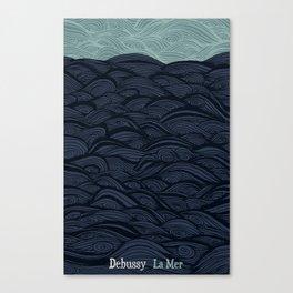 La Mer - Debussy Canvas Print