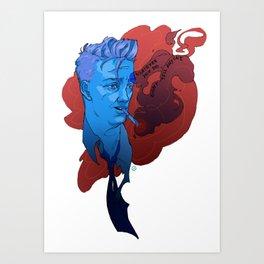 Don't Tell Art Print