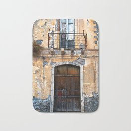 Sicilian facade of Taormina Bath Mat