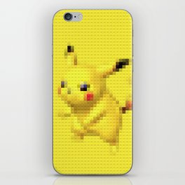Electric Mouse - Legobrick iPhone Skin
