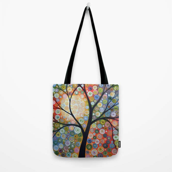Waiting For the Moon Tote Bag