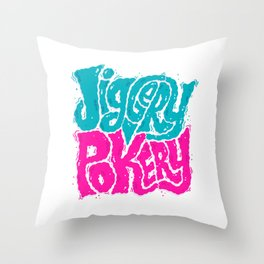 Jiggery-Pokery Throw Pillow