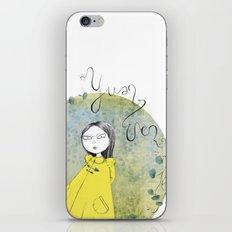 Yuan Wen  iPhone & iPod Skin