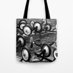 The World Turned Upside Down Tote Bag