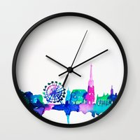 vienna Wall Clocks featuring Vienna by Talula Christian