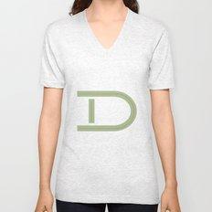 D 001 Unisex V-Neck